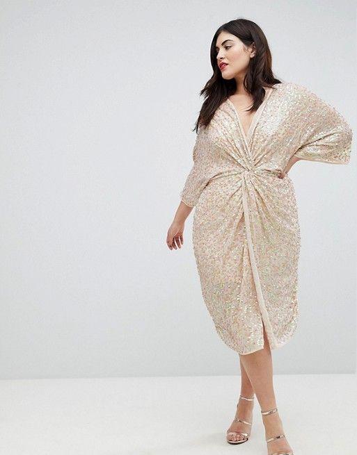 robe-femme-ronde-chic