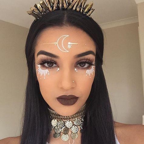 maquillage-halloween-féminin