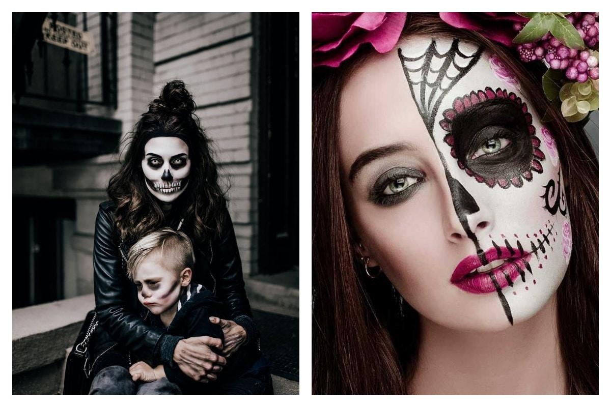 Comment faire un maquillage squelette pour Halloween