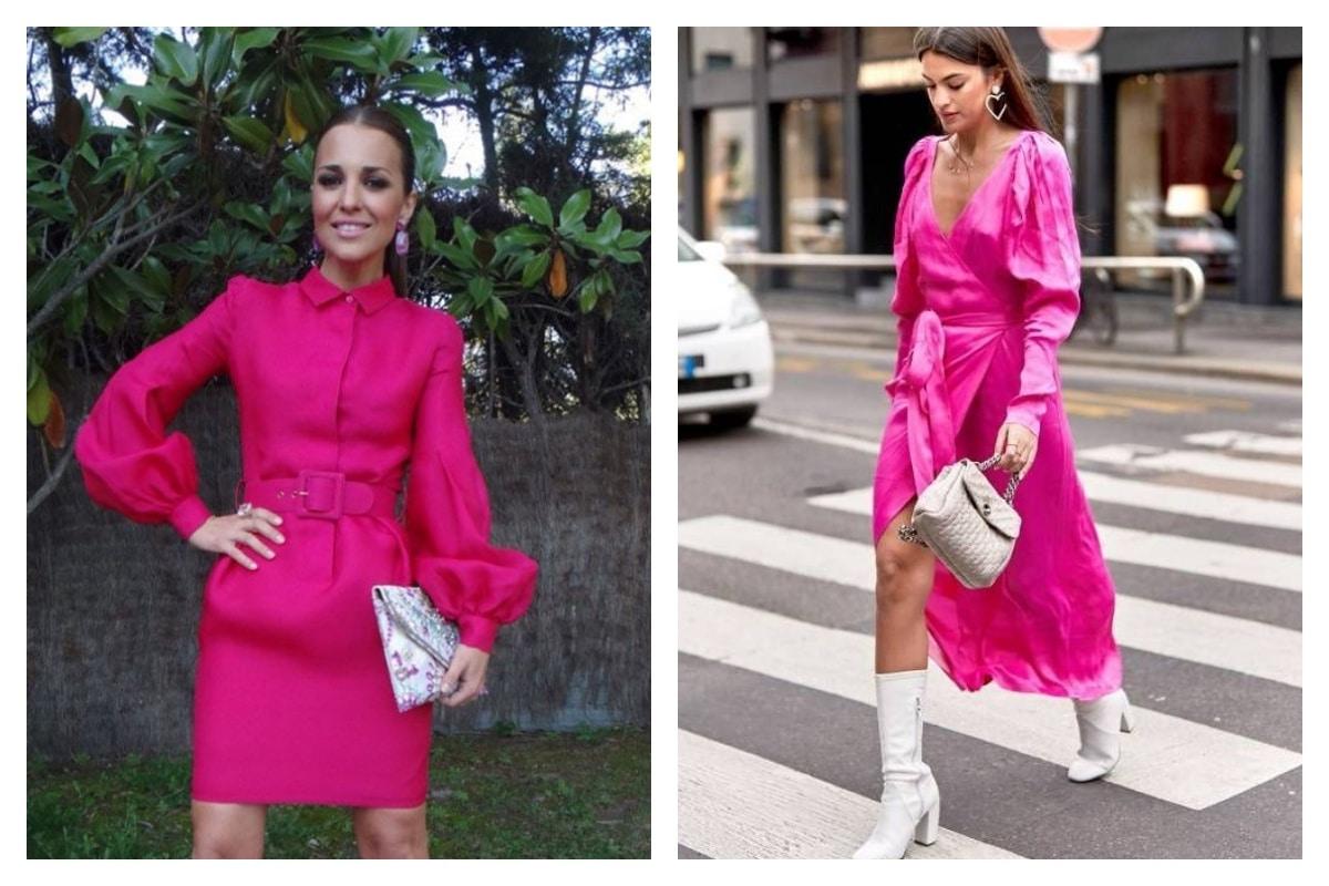 3 looks parfaits pour porter une robe rose fuchsia