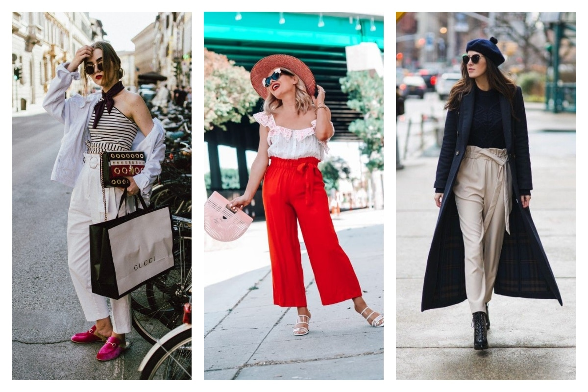 4 inspirations look pour porter un pantalon paper bag