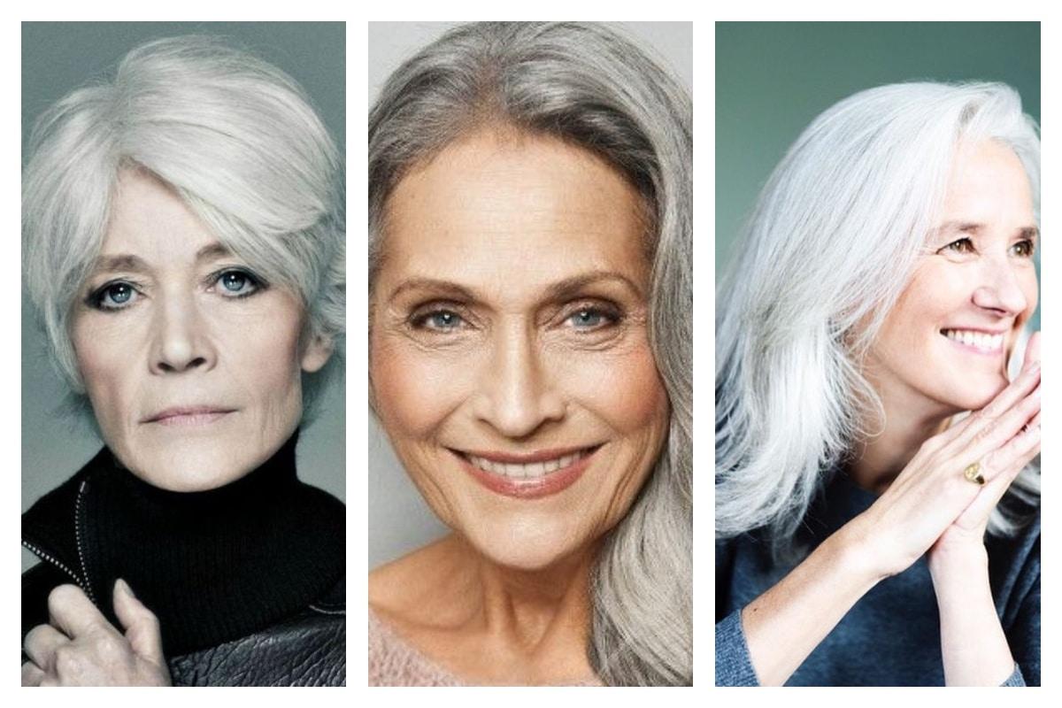 Cheveux gris pourquoi on ne les cachent plus