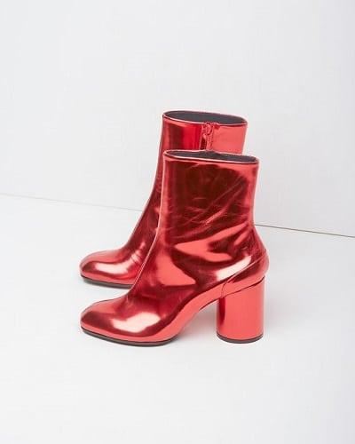 chaussures lamées