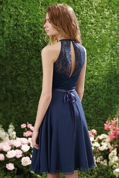 robe bleu marine