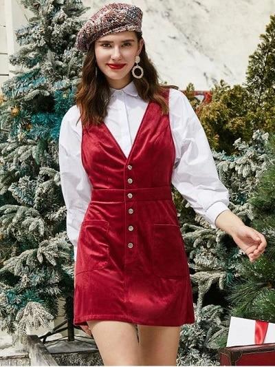 robe rouge Noel