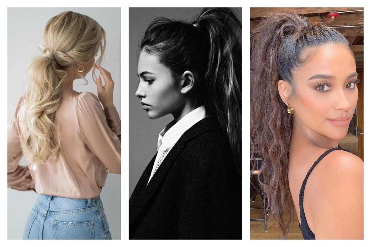 Queue-de-cheval 4 coiffures tendances