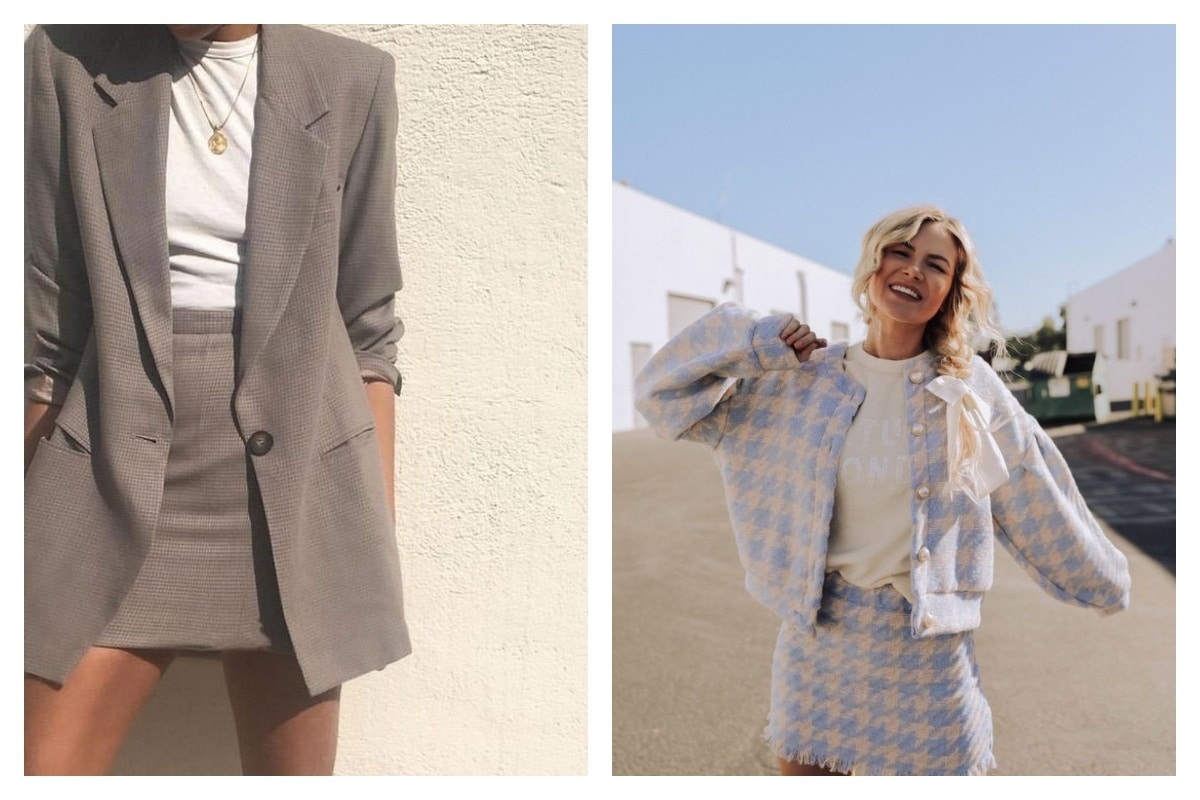 choisir un tailleur jupe femme