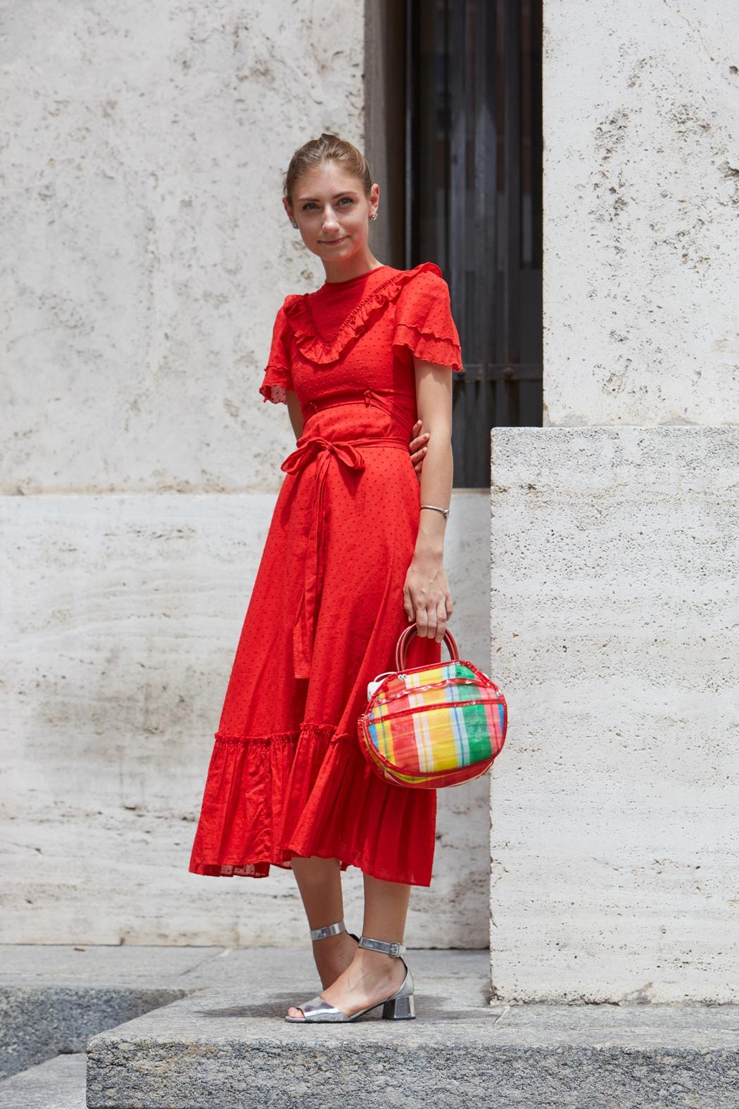 comment porter la robe rouge