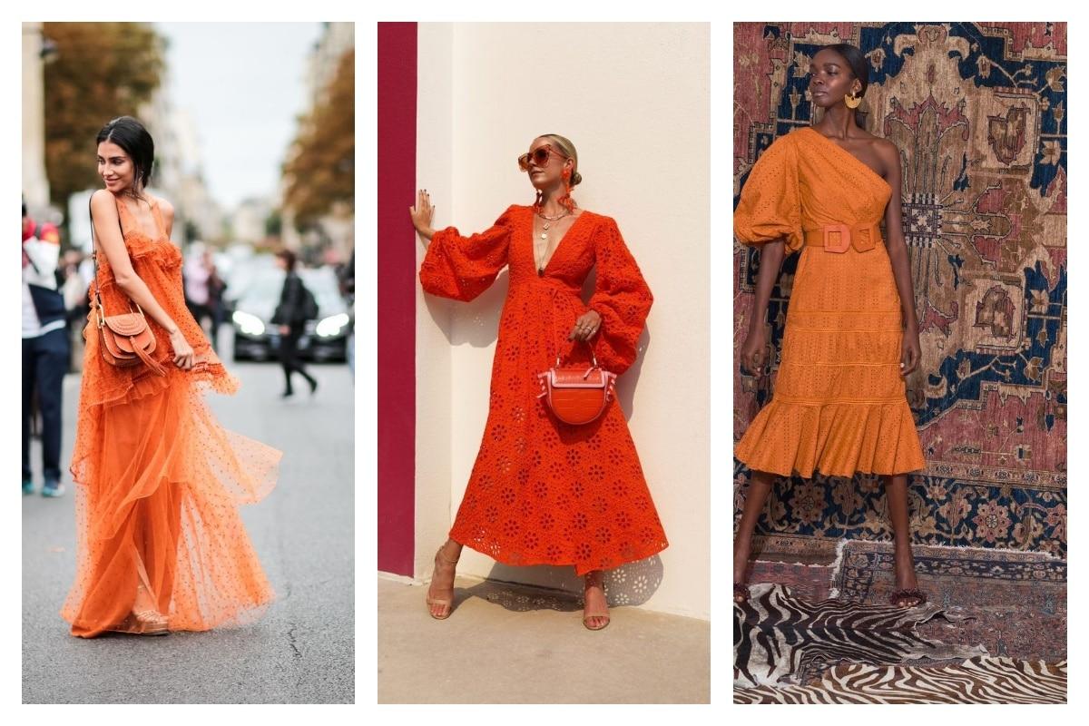 Robe orange comment la porter et l'accessoiriser