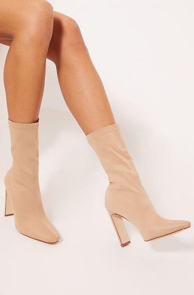 bottines chaussettes chaussures tendances