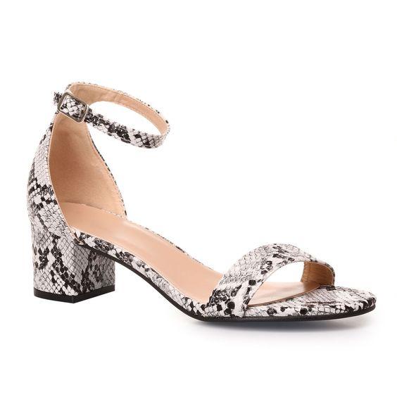 sandales blocs