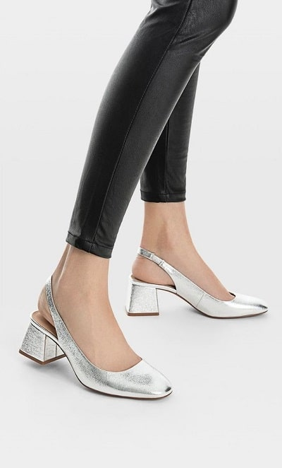 slingback chaussure tendance