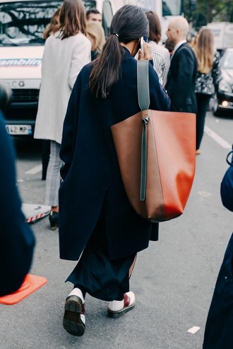un sac de cours oversize