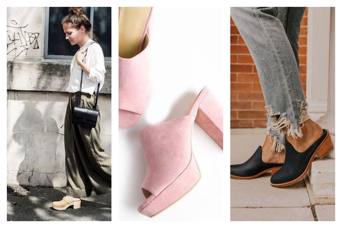 L'accessoire tendance de l'été la chaussure sabot