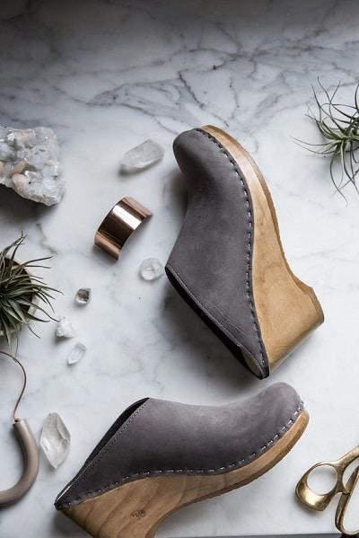 chaussures sabots accessoire