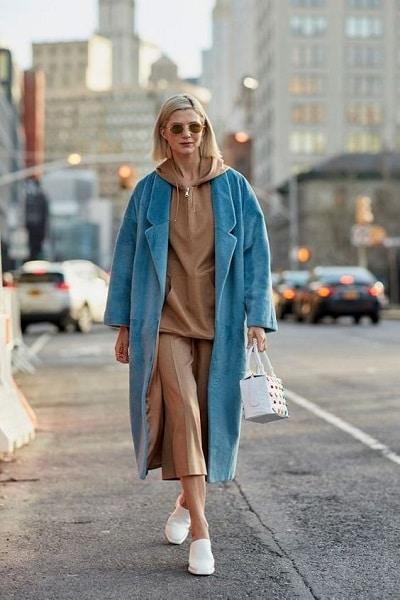 jupe culotte marron