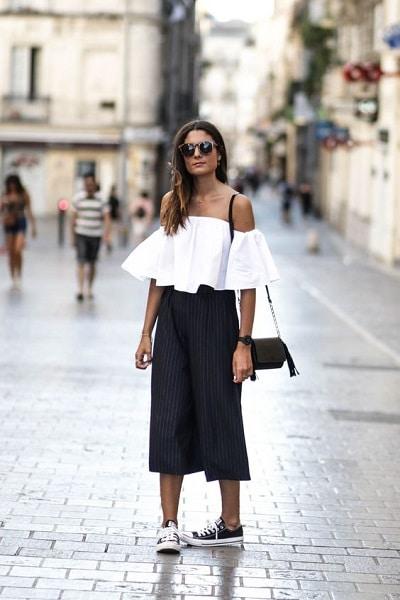 jupe culotte noire