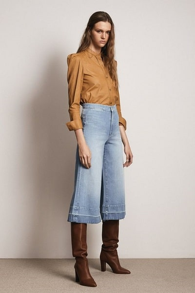 jupe culotte seventies