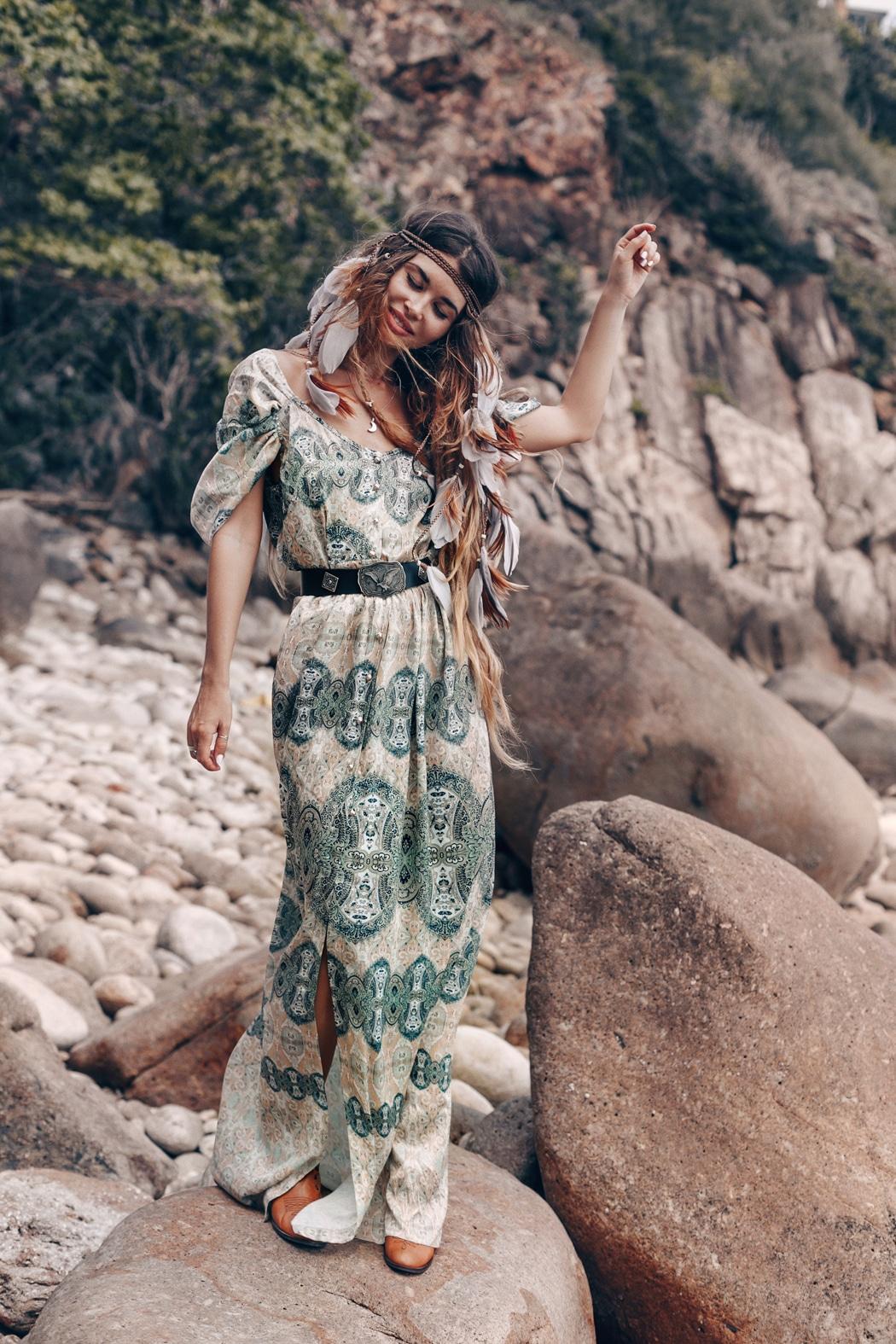 robe boheme tendance