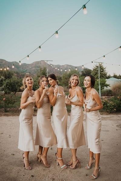 slipdress robe pour mariage