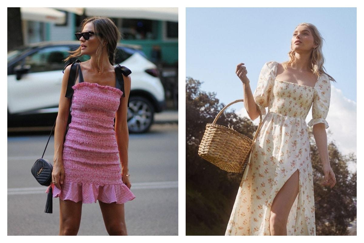 Robe à smocks une tendance de robe vintage à ne pas rater