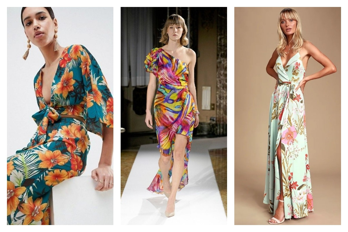 robe tropicale