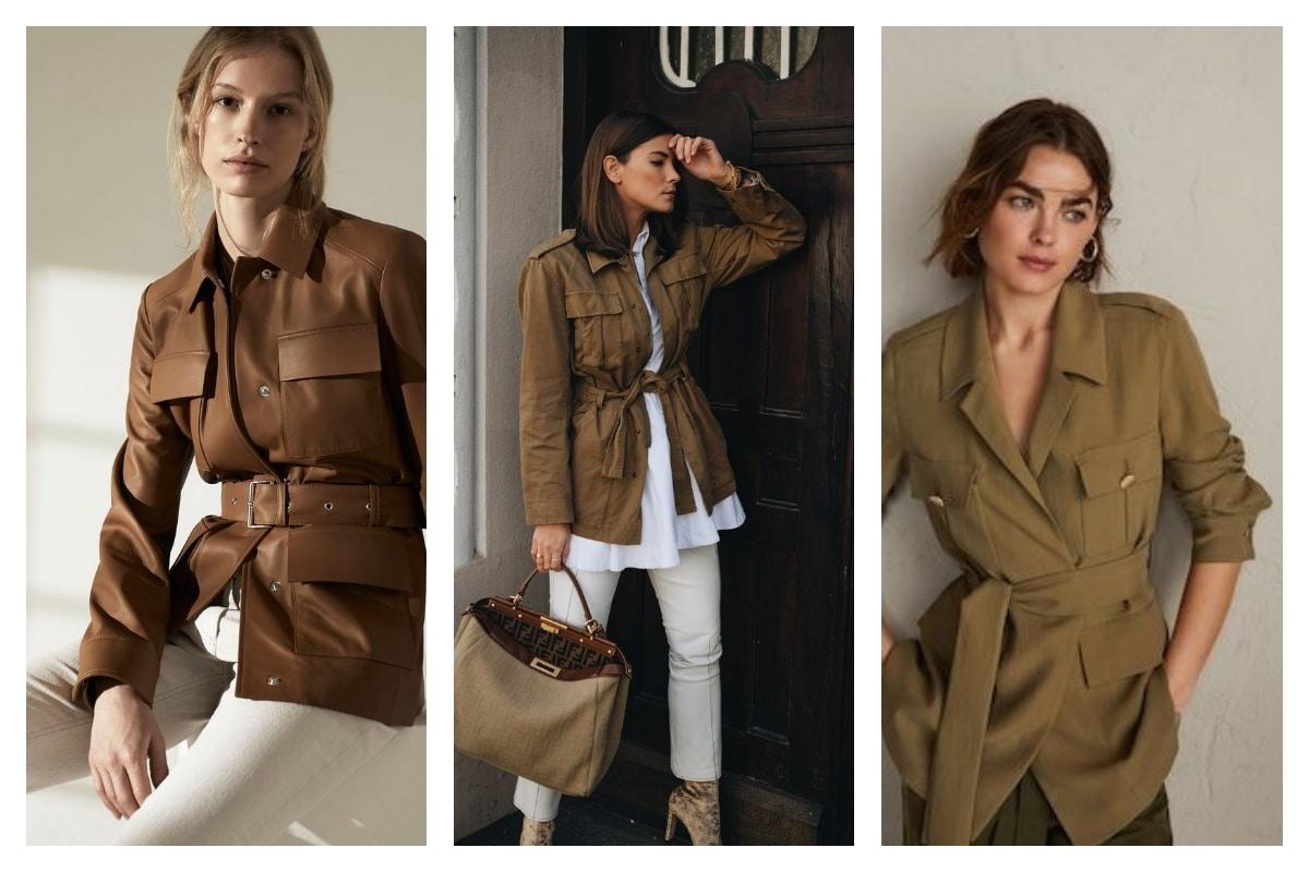 Le retour de la veste saharienne en mode chic et branché!