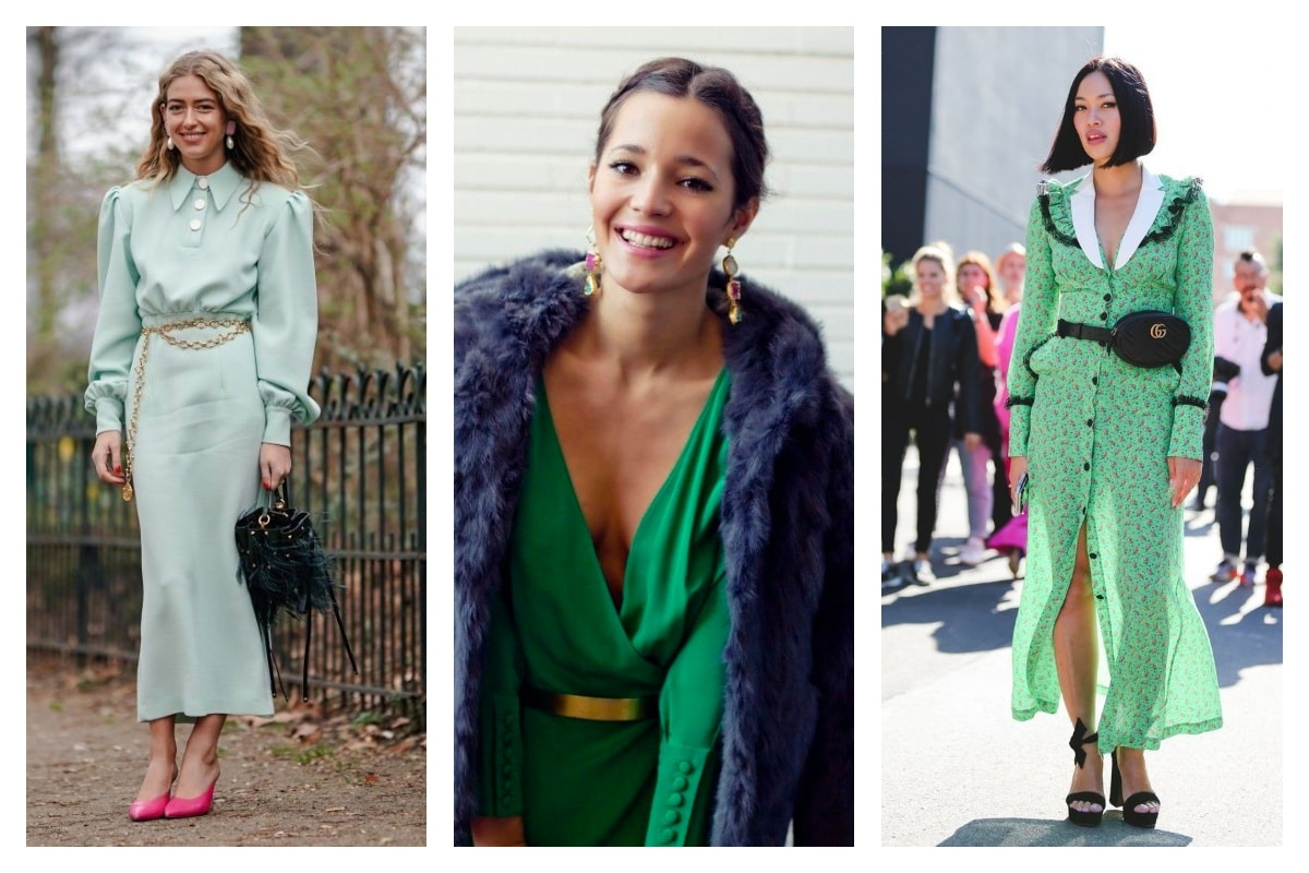 8 conseils pour porter la robe verte