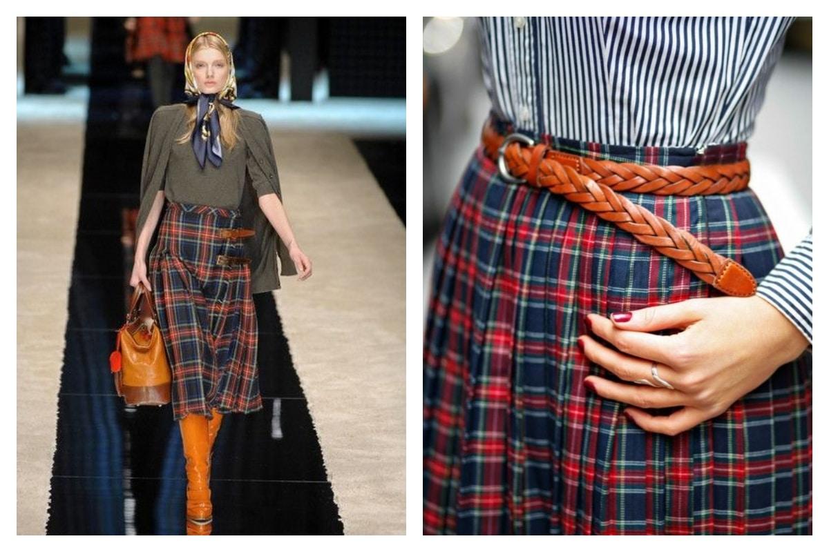 jupe écossaise