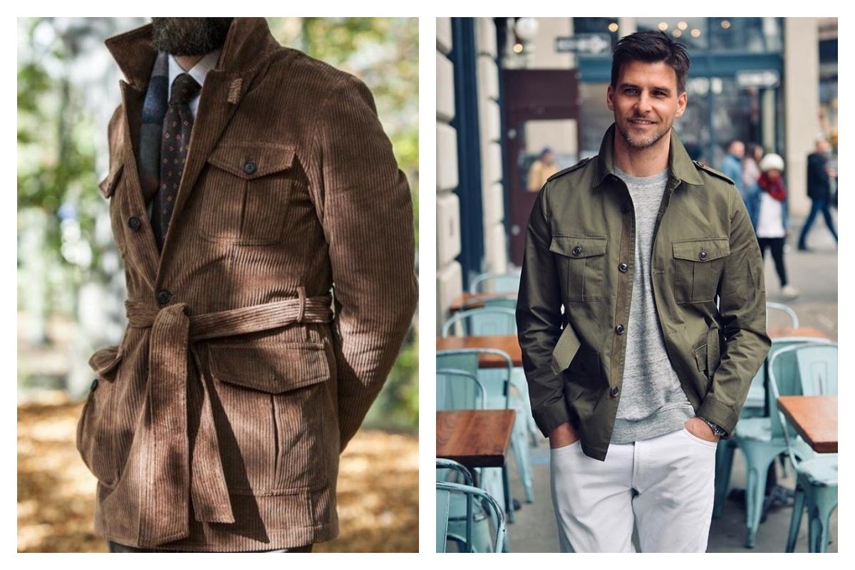 Saharienne homme 3 looks ultra tendances avec la veste de mi-saison