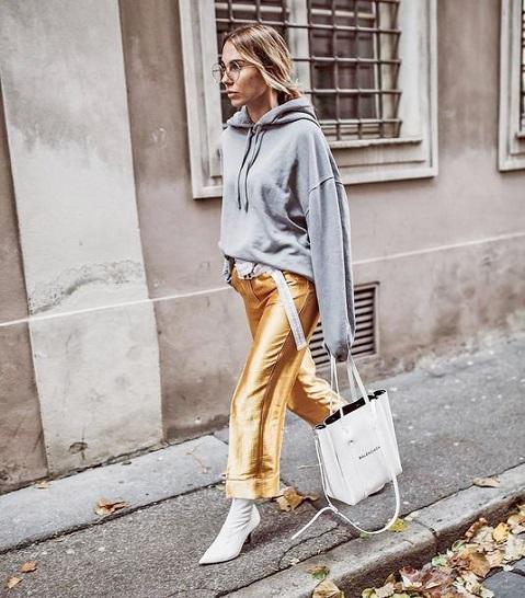 pantalon doré femme (2)