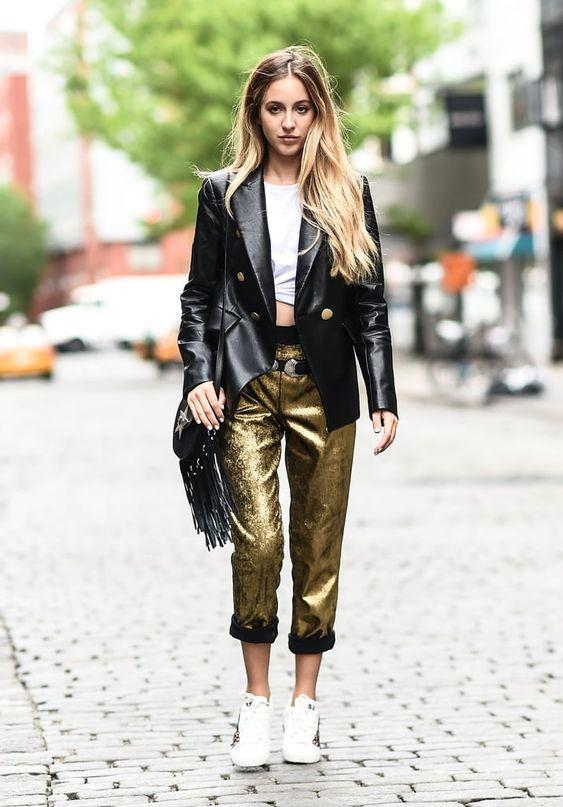 pantalon-dore-metallise