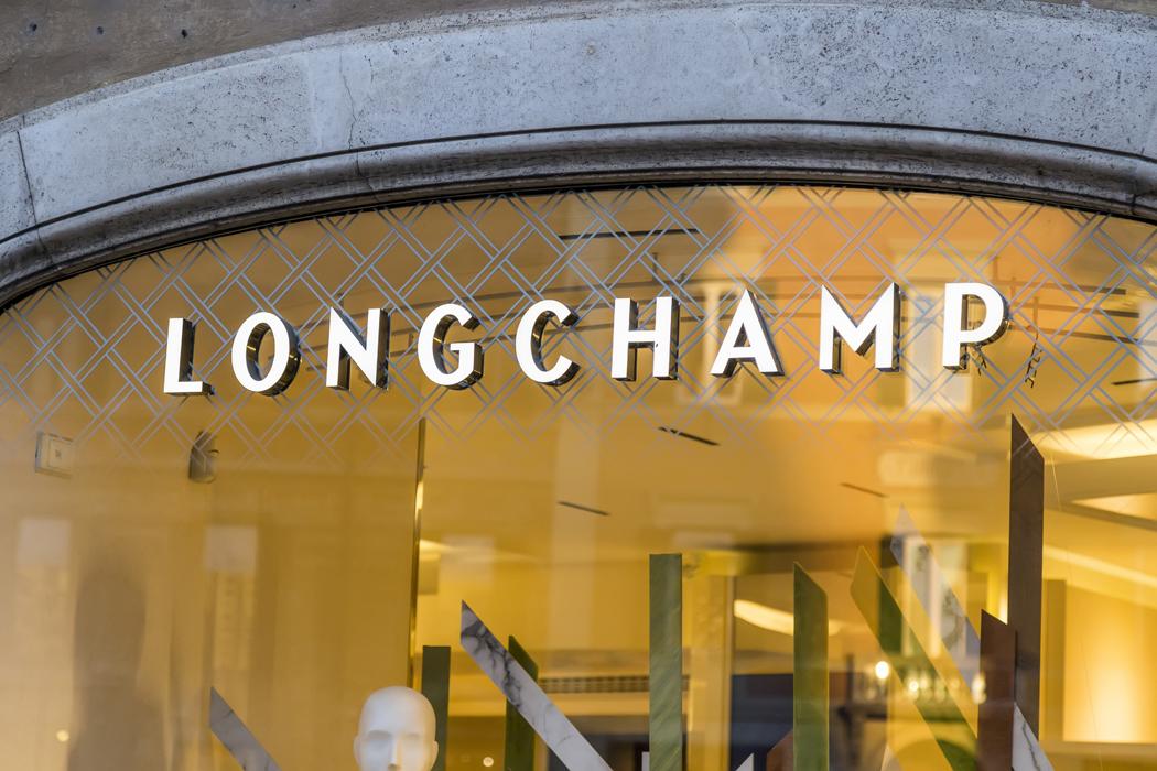 sac pliage de Longchamp